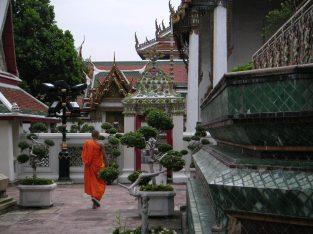 Mönch in Bangkok