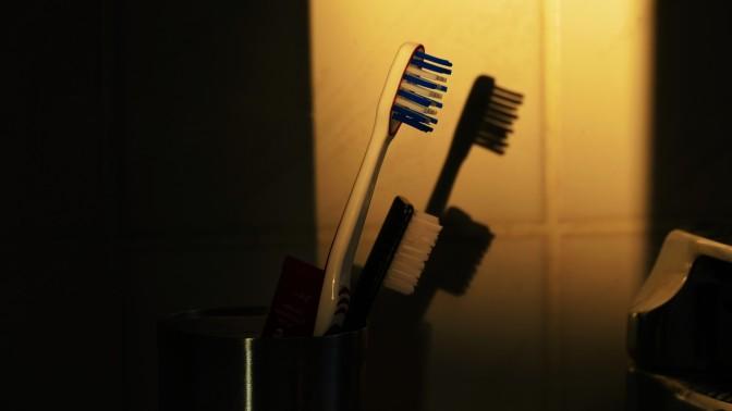 Kampfrede einer Zahnbürste